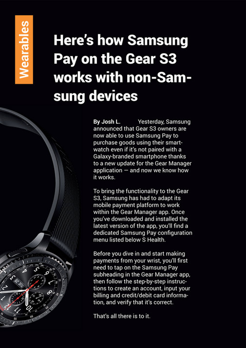 SamMobile - Issue 91 - Page 20-21 - Created with Publitas com