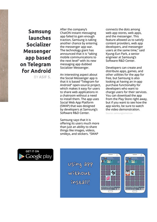 SamMobile - Issue 36 - Page 4-5 - Created with Publitas com