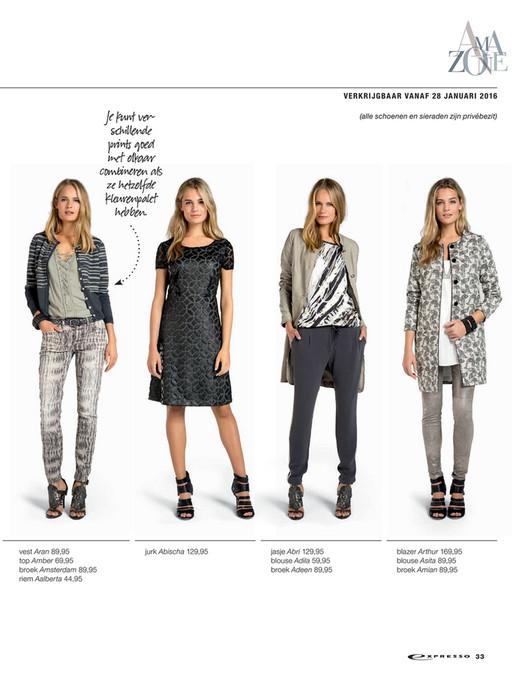 expresso kleding 2016