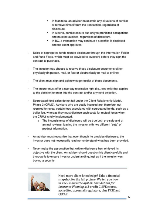 CLIFE Inc  - Mastering the Life Insurance Sales Process - Page 6-7