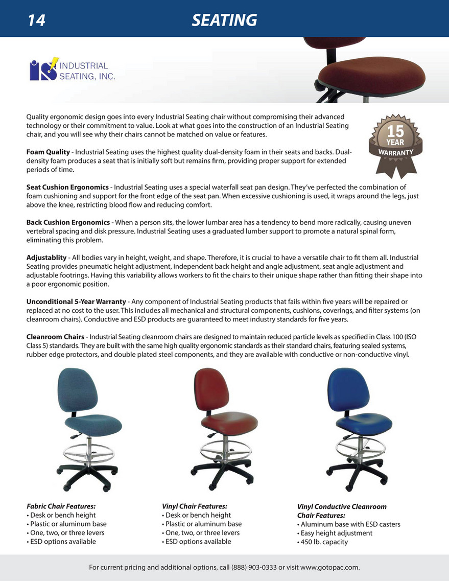 Incredible My Publications Pac Industrial Catalog Page 16 17 Caraccident5 Cool Chair Designs And Ideas Caraccident5Info