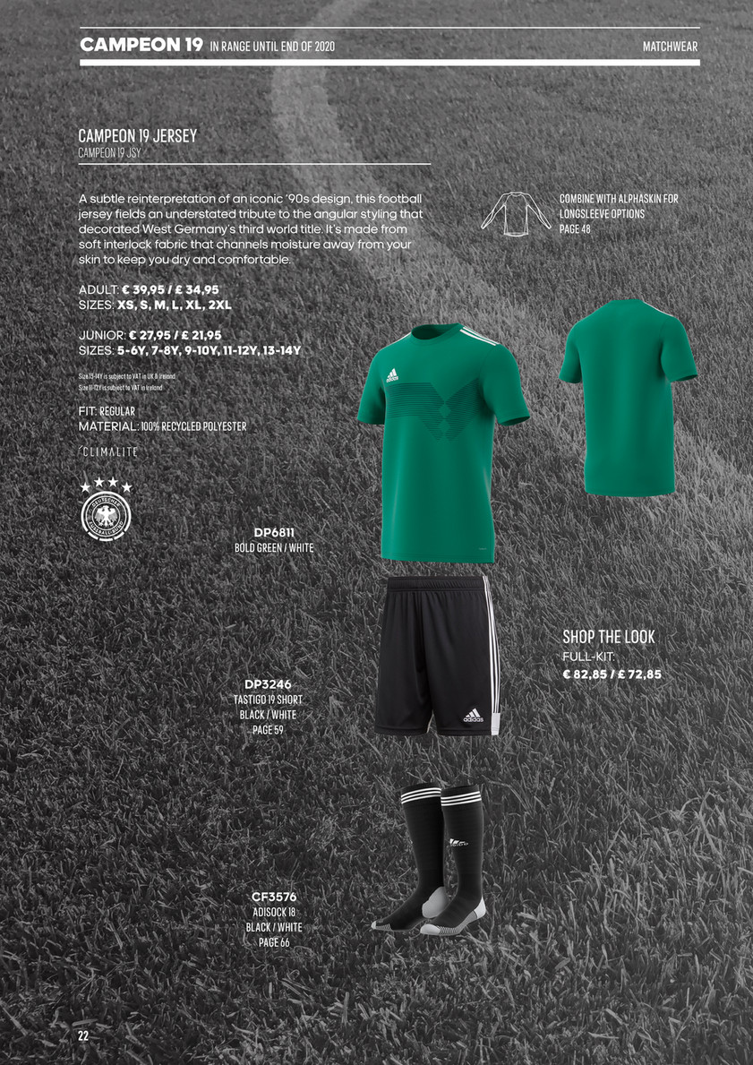 Border Embroideries - Adidas Teamwear 2019 - Page 23 - Created with