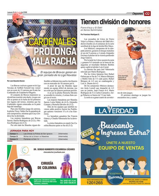 Impreso Valle del Mayo - EDICION 21 JUNIO 2018 - Página 20-21 ...