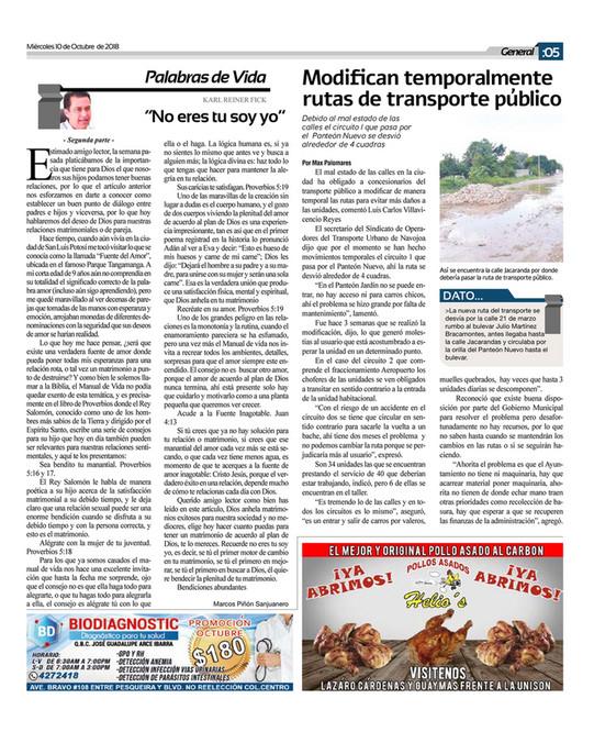 Impreso Valle del Mayo - NAVO 10 octubre - Página 1 - Created with ...