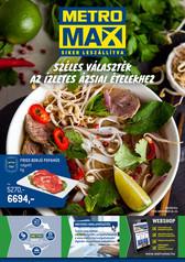 Széles választék az ízletes ázsiai ételekhez!