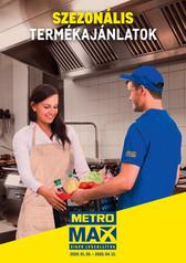 METRO MAX Szezonális termékajánlatok