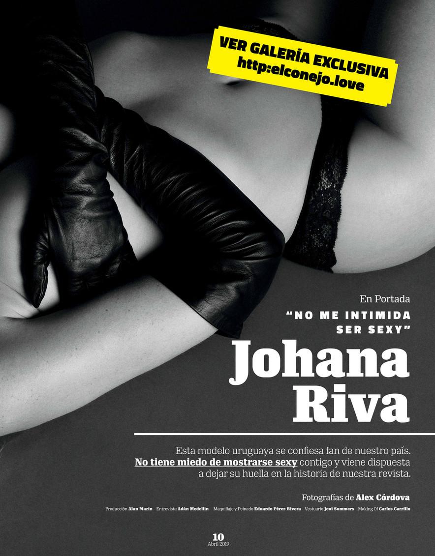 Johana Riva Playboy ginmedia - playboy méxico abril 2019 - página 10-11