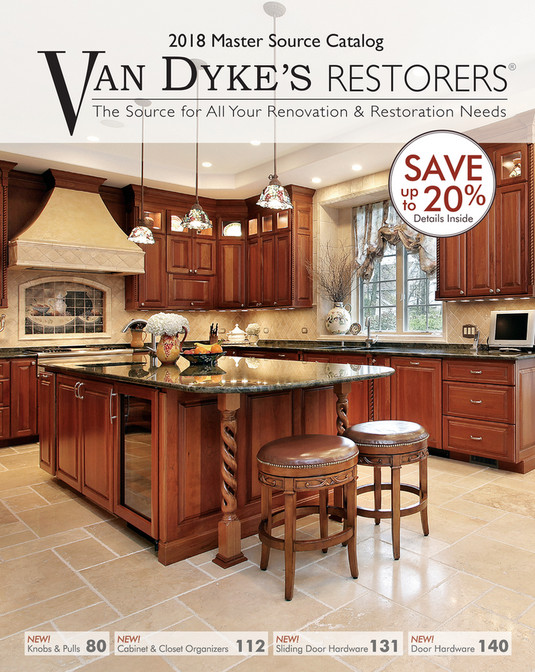 V 2018 Master Source Catalog AN DYKEu0027S RESTORERS ® The Source For All Your  Renovation U0026