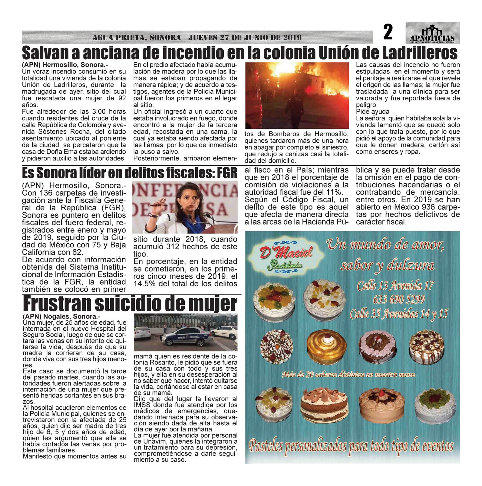 Amor Voraz apnoticias - edicion 67 - page 2-3 - created with publitas