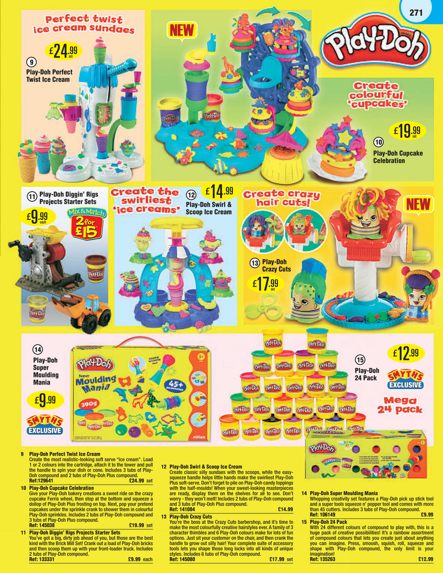 Smyths Toys Smyths Toys Catalogue 2015 Page 271 Created With