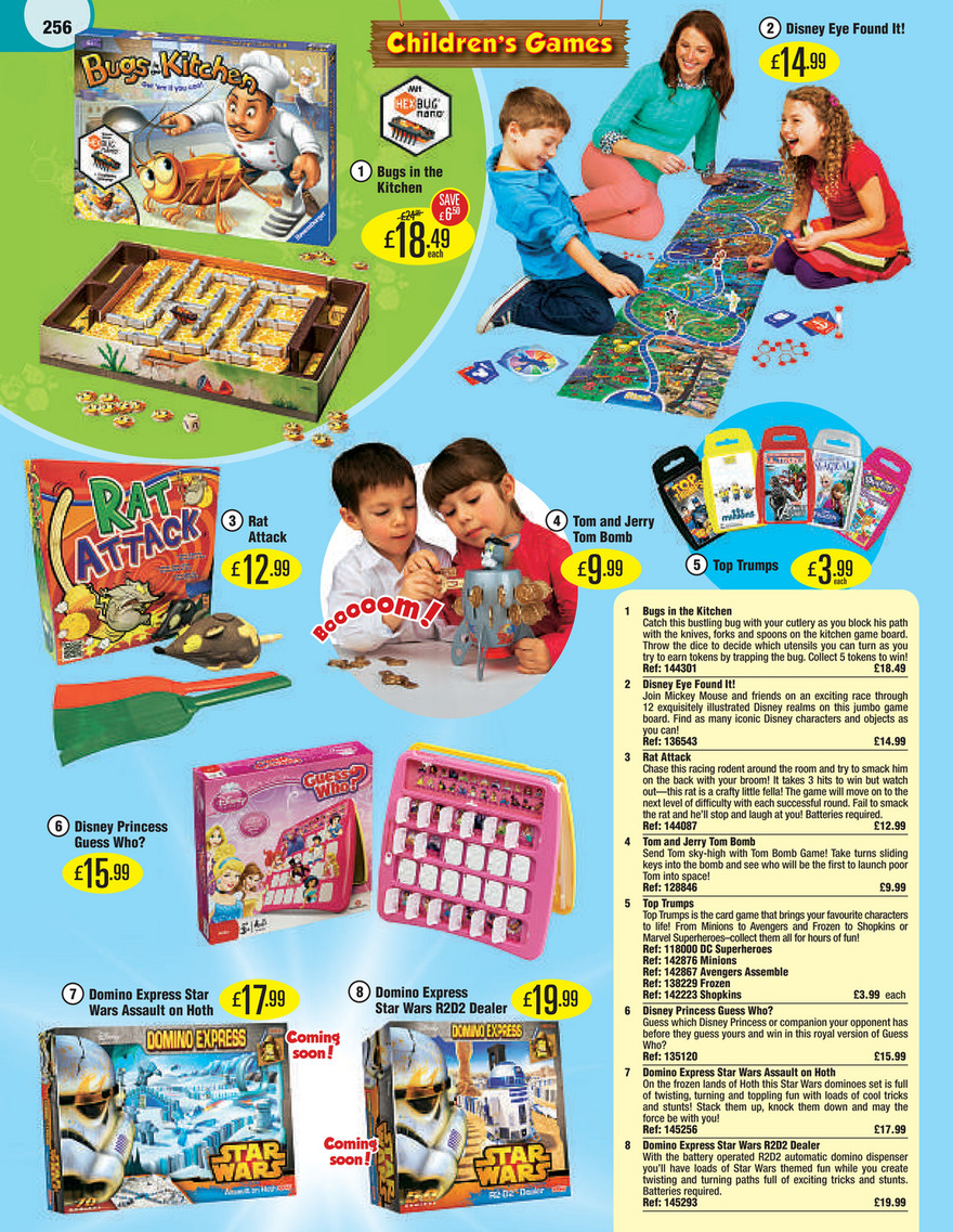 Smyths Toys - Smyths Toys Catalogue 2015 - Page 256 - Created with ...