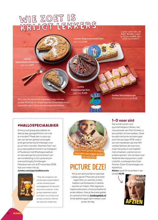 Hallo Jumbo - Hallo Jumbo Magazine - nr 11 2018 - Pagina 12-13