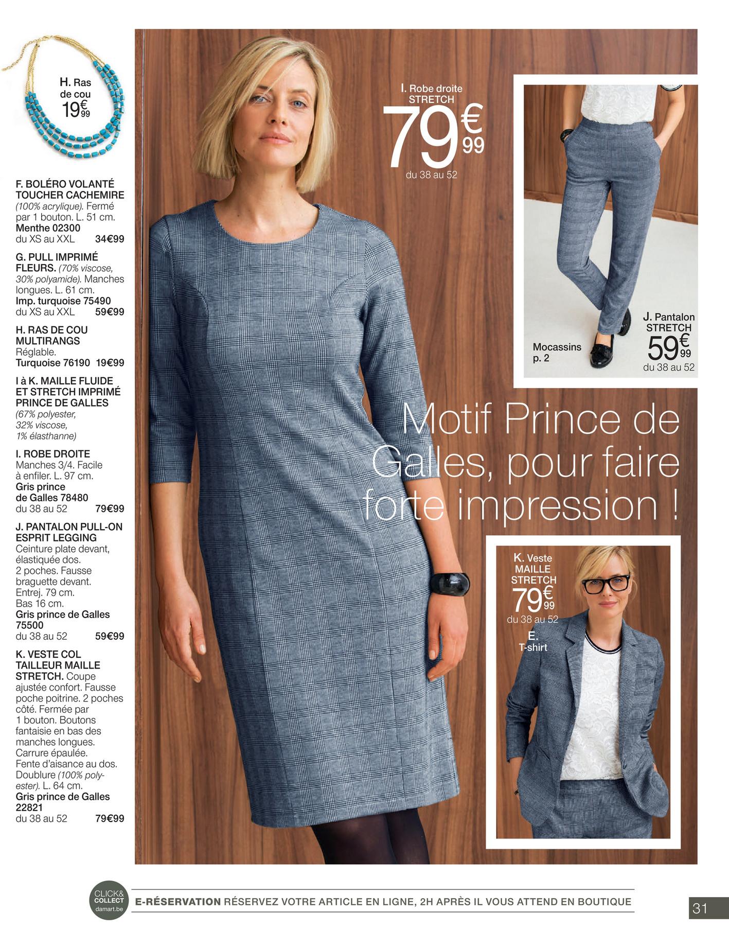 mode attrayante forme élégante 50-70% de réduction Damart - Actu Mode FR - Page 30-31