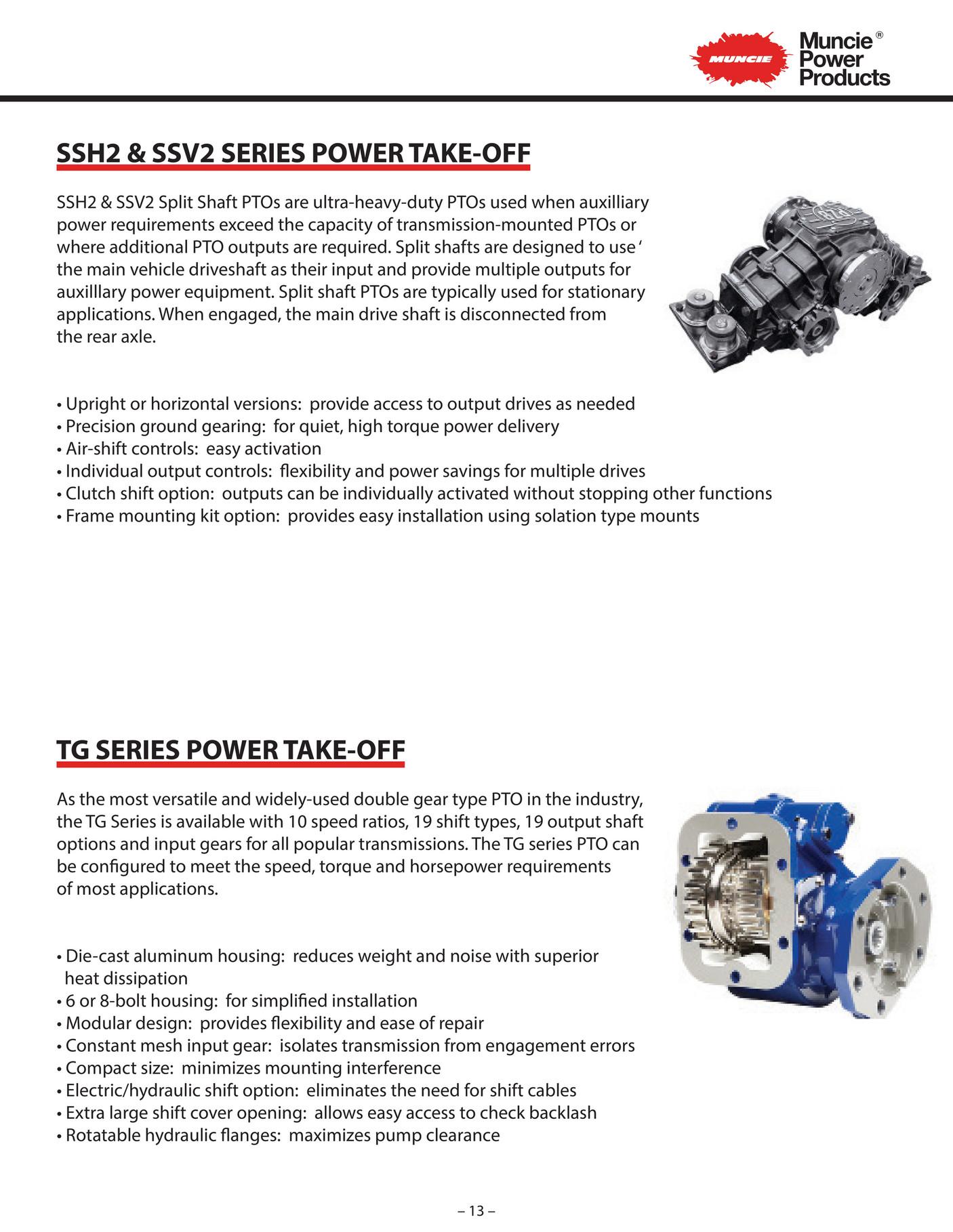 R&M Equipment - Muncie Auxiliary Power Brochure v1 - Page 14