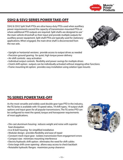 R&M Equipment - Muncie Auxiliary Power Brochure v1 - Page 14-15