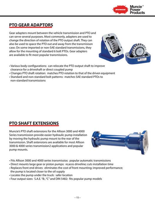 R&M Equipment - Muncie Auxiliary Power Brochure v1 - Page 16-17