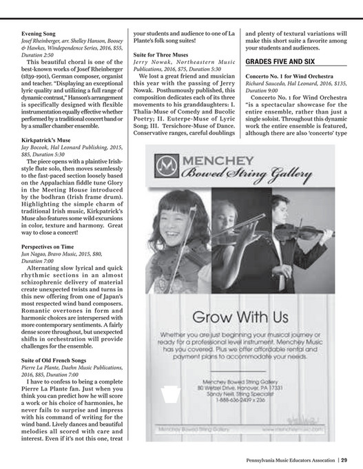 PMEA - PMEA News - Winter Issue (2016) - Page 30-31 - Created with