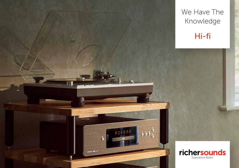 Richer Sounds - We Have The Knowledge - Hi-Fi - Page 1