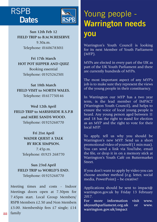 My publications - The Essential Guide Woolston Jan Feb 17