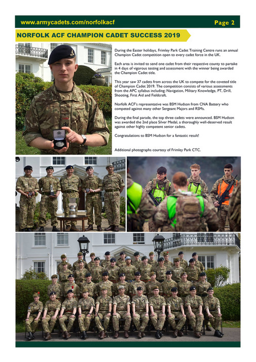Norfolk ACF - 03 APR 19 Newsletter - Page 1 - Created with Publitas com