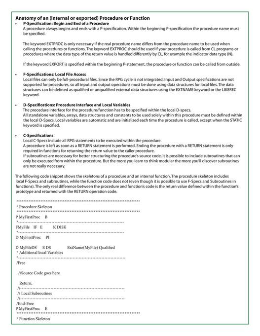 COMMON - COMMON ILE RPG Certification Exam Study Guide