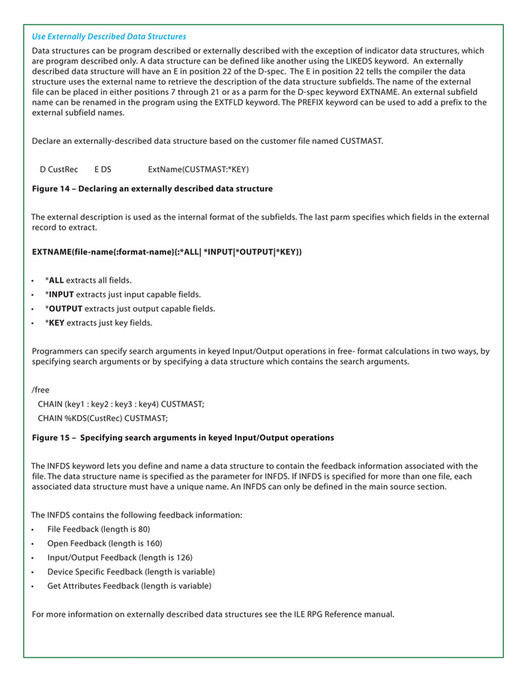 COMMON - COMMON ILE RPG Certification Exam Study Guide - Page 24-25