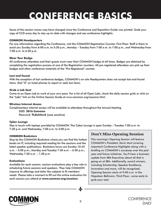 COMMON - S16_Sunday_CCD - Page 1