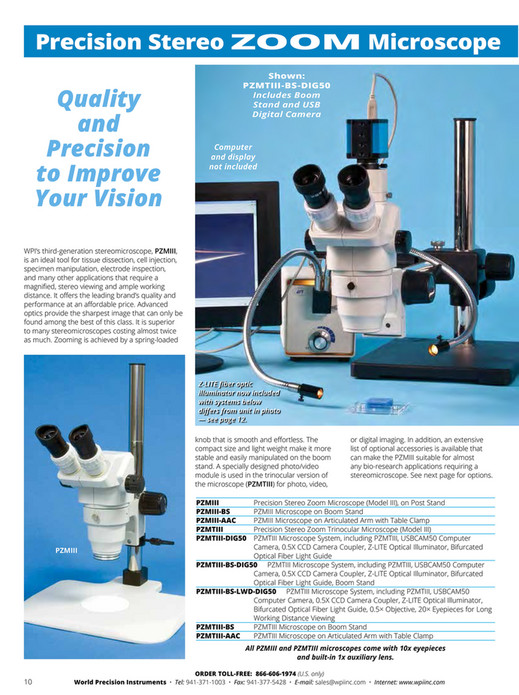 World Precision Instruments - 2016-Microinjection Catalog - Page 12-13