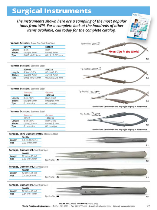World Precision Instruments - 2016-Microinjection Catalog - Page 28-29