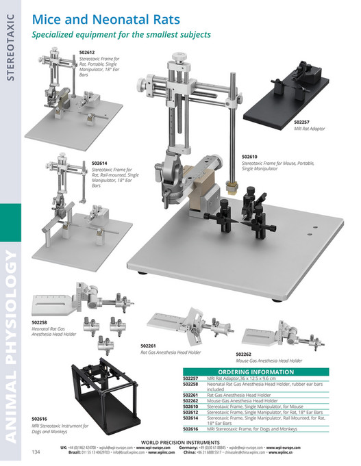 World Precision Instruments - 2017-Catalog online - Page 136-137