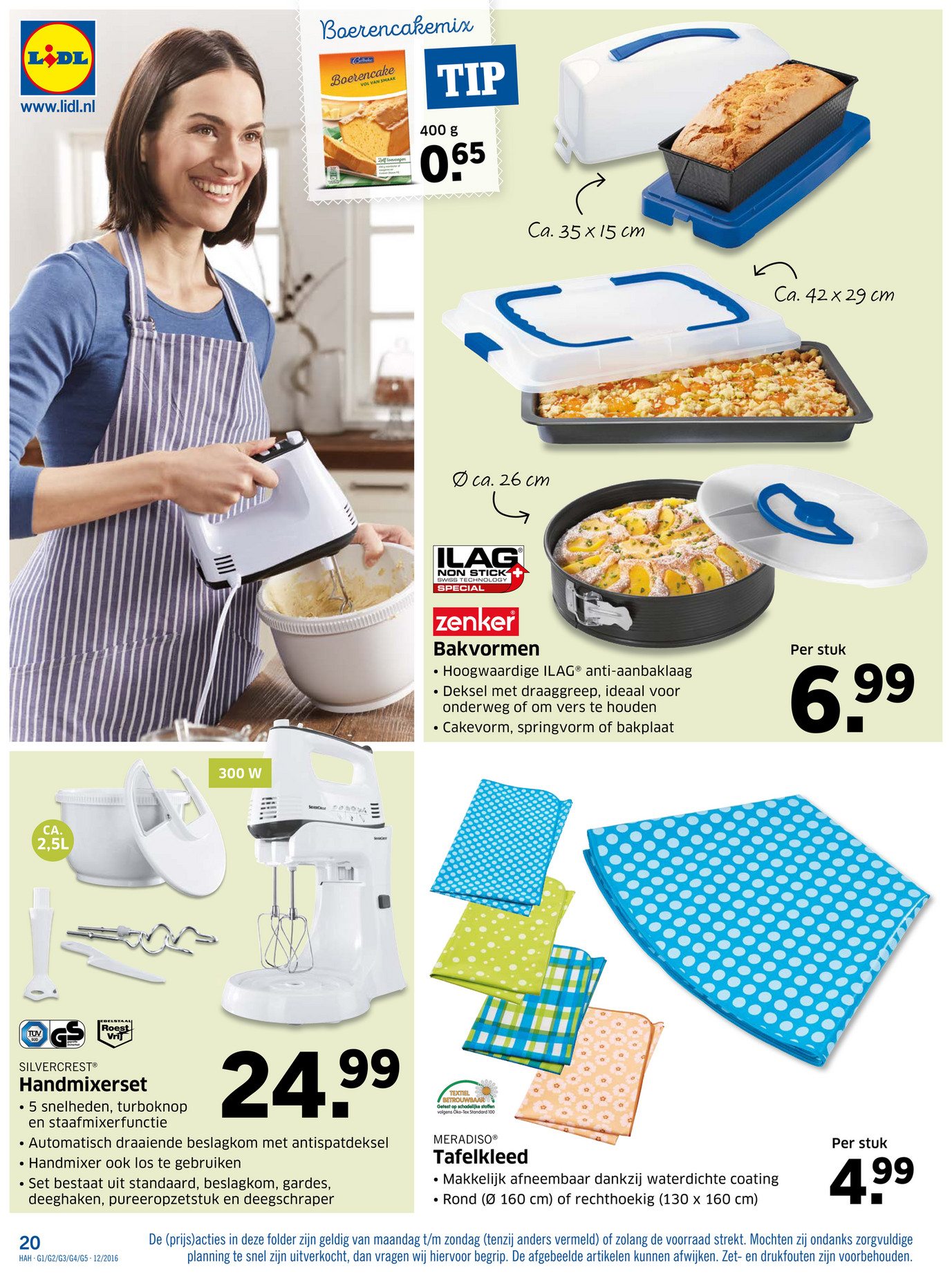 Folderaanbiedingen Lidl non food folder 21 tm 27 maart