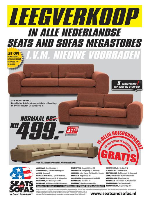 Seats En Sofas Reclame.Folderaanbiedingen Seats And Sofas Folder 2 Tm 7 Mei 2016 Pagina 4