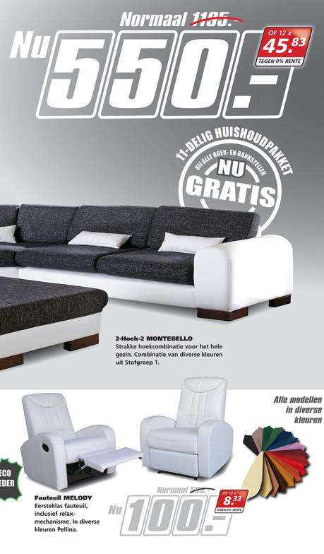 Folderaanbiedingen - Seats and Sofas folder 4 tm 9 juli 2016 - Pagina 8