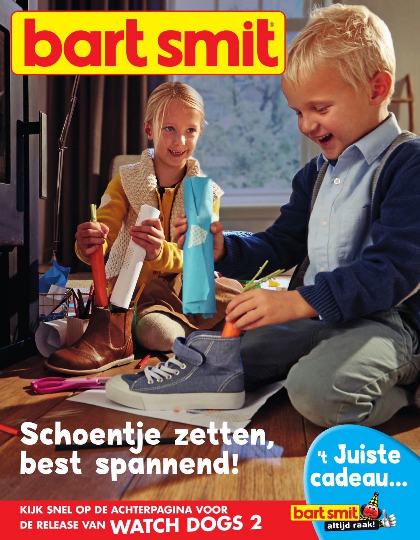 Folderaanbiedingen Bart Smit Sinterklaas Magazine Pagina 1