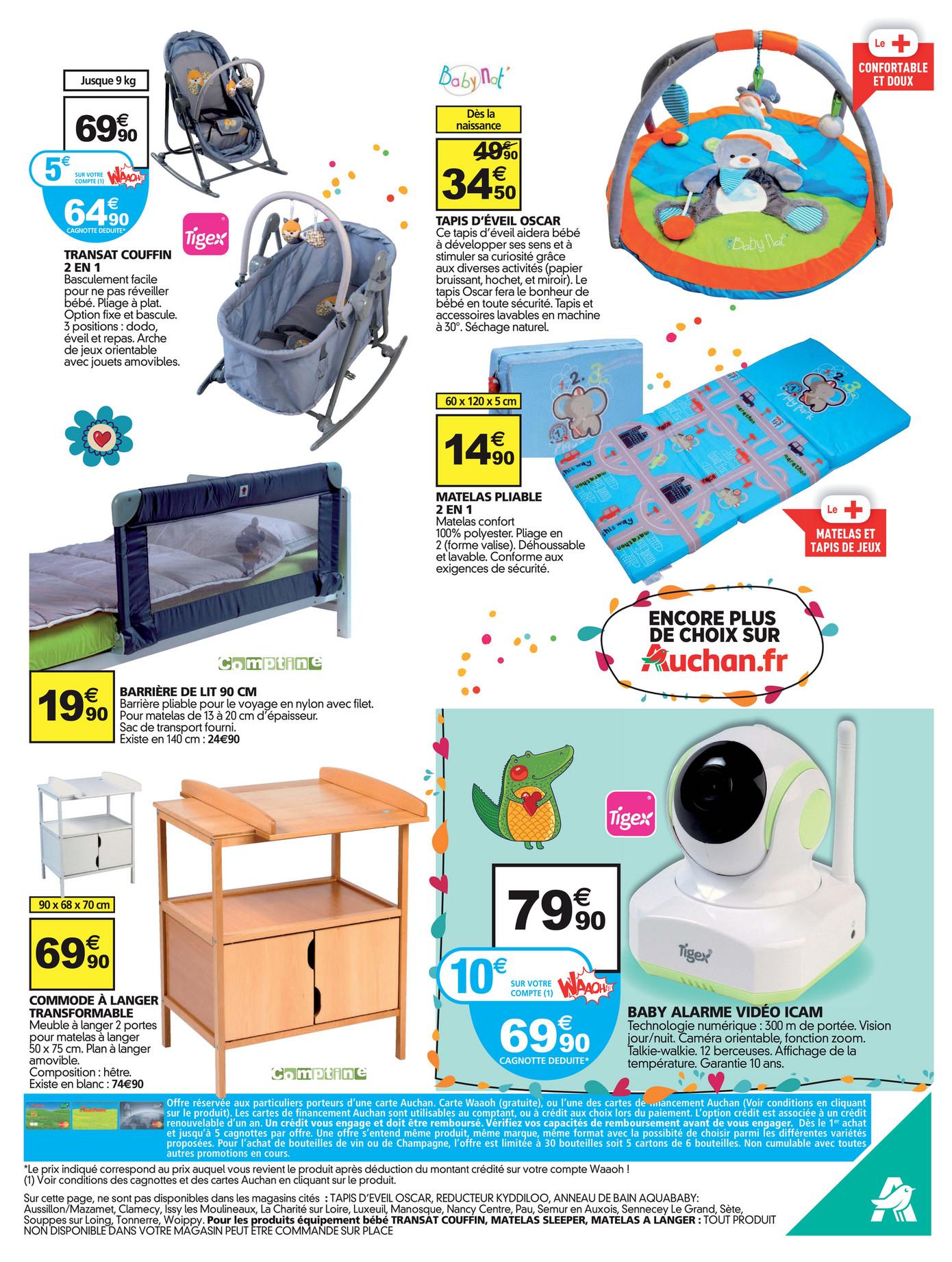 folderaanbiedingen auchan baby folder 18 tm 24 januari 2017 pagina 10 11. Black Bedroom Furniture Sets. Home Design Ideas