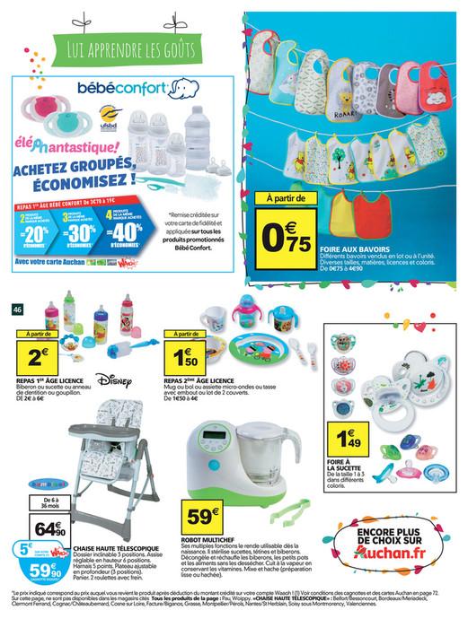 Carte Auchan Baby.Folderaanbiedingen Auchan Baby Folder 18 Tm 24 Januari