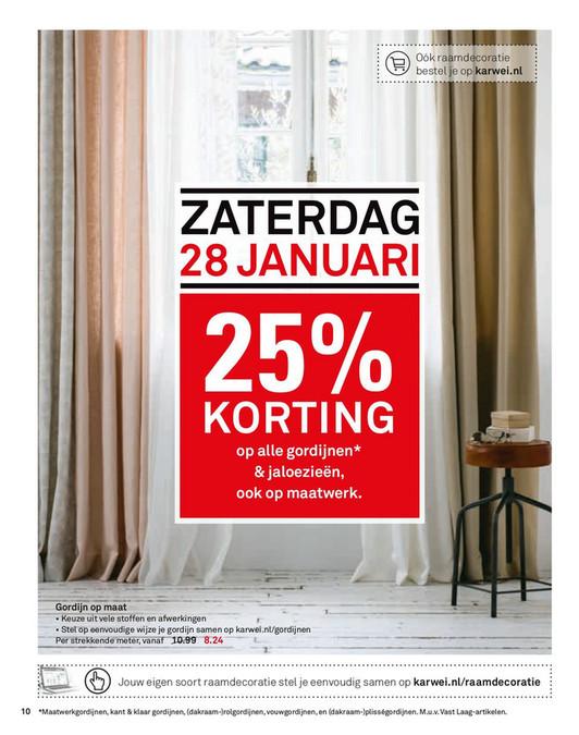 Folderaanbiedingen - Karwei folder 23 januari tm 5 februari 2017 ...