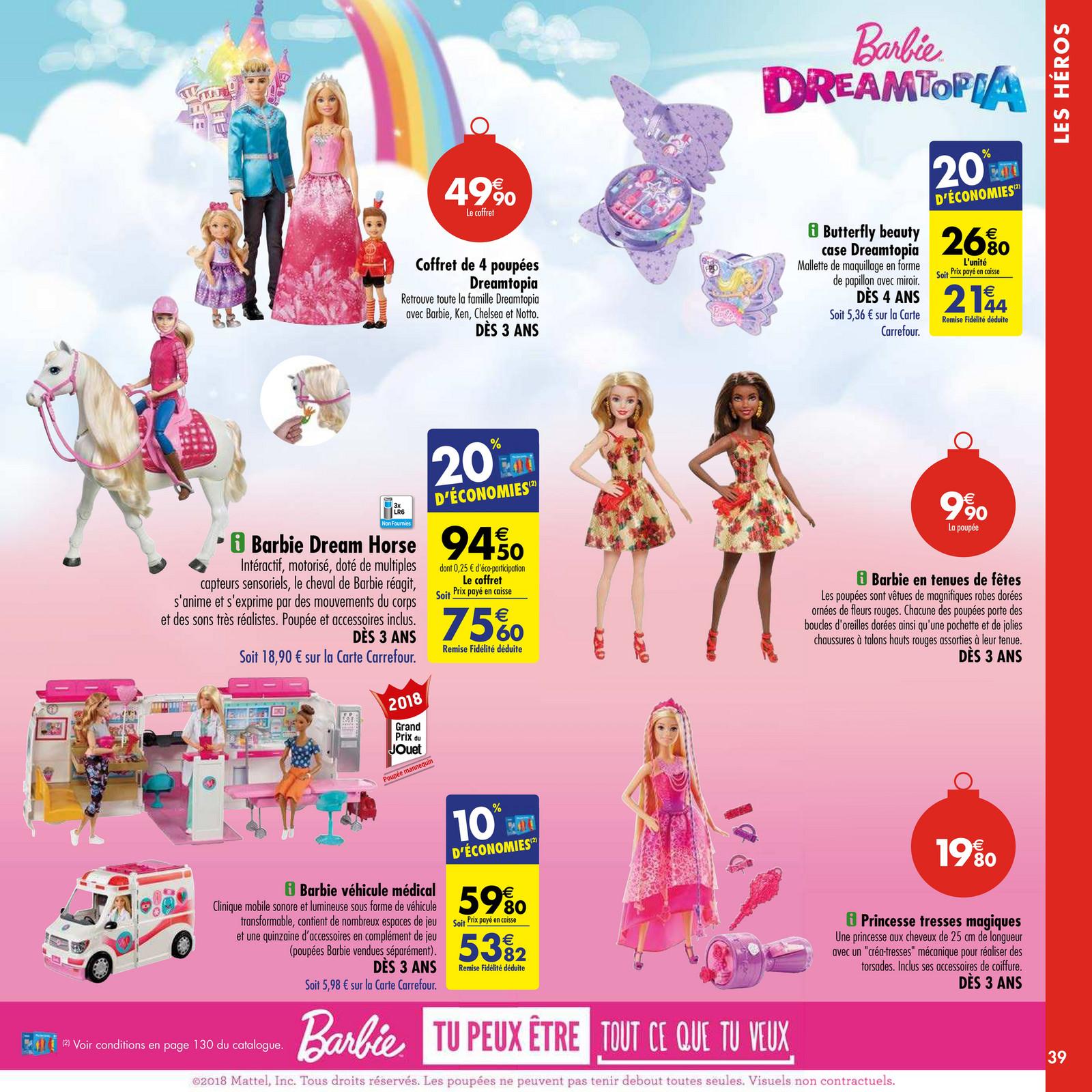 barbie de noel carrefour cheap online