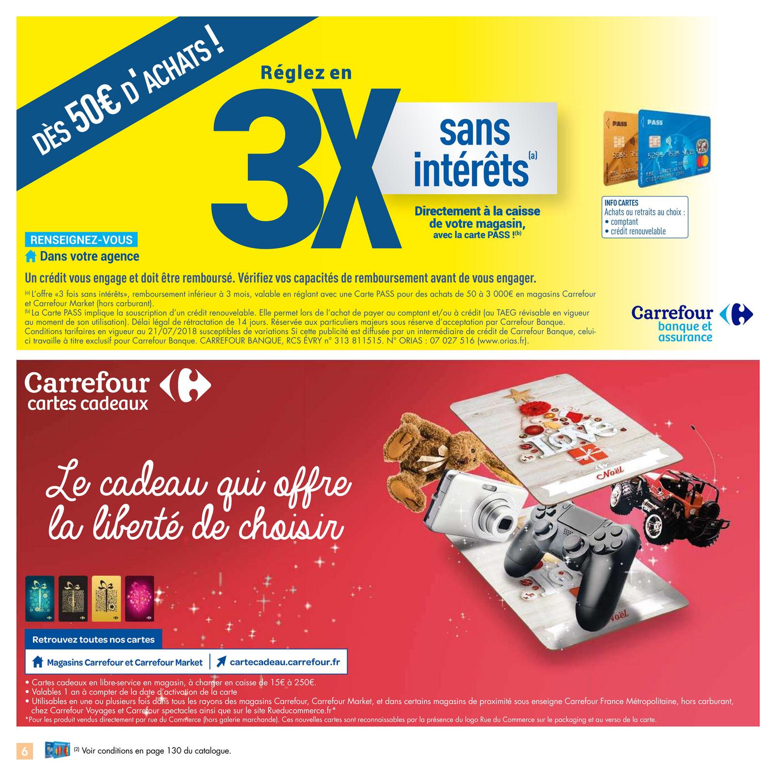 Folderaanbiedingen Catalogue Carrefour Noël Jouets