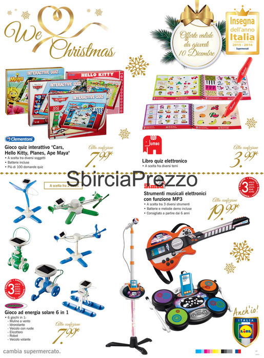 Sp Volantino Lidl We Love Christmas Dicembre 7 13 Page 36 37
