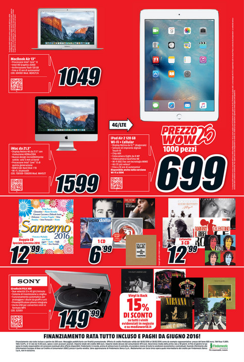 Sp Volantino Mediaworld Wow Page 4 5 Created With Publitas Com