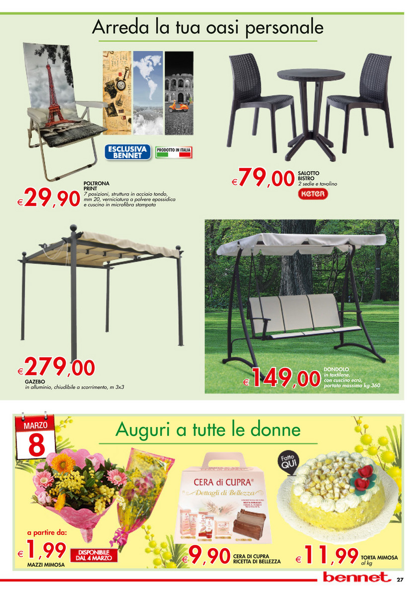 low priced 7d4a4 3e6a7 SP - Volantino Bennet - Sconti 30% 40% 50% - Page 26-27 ...