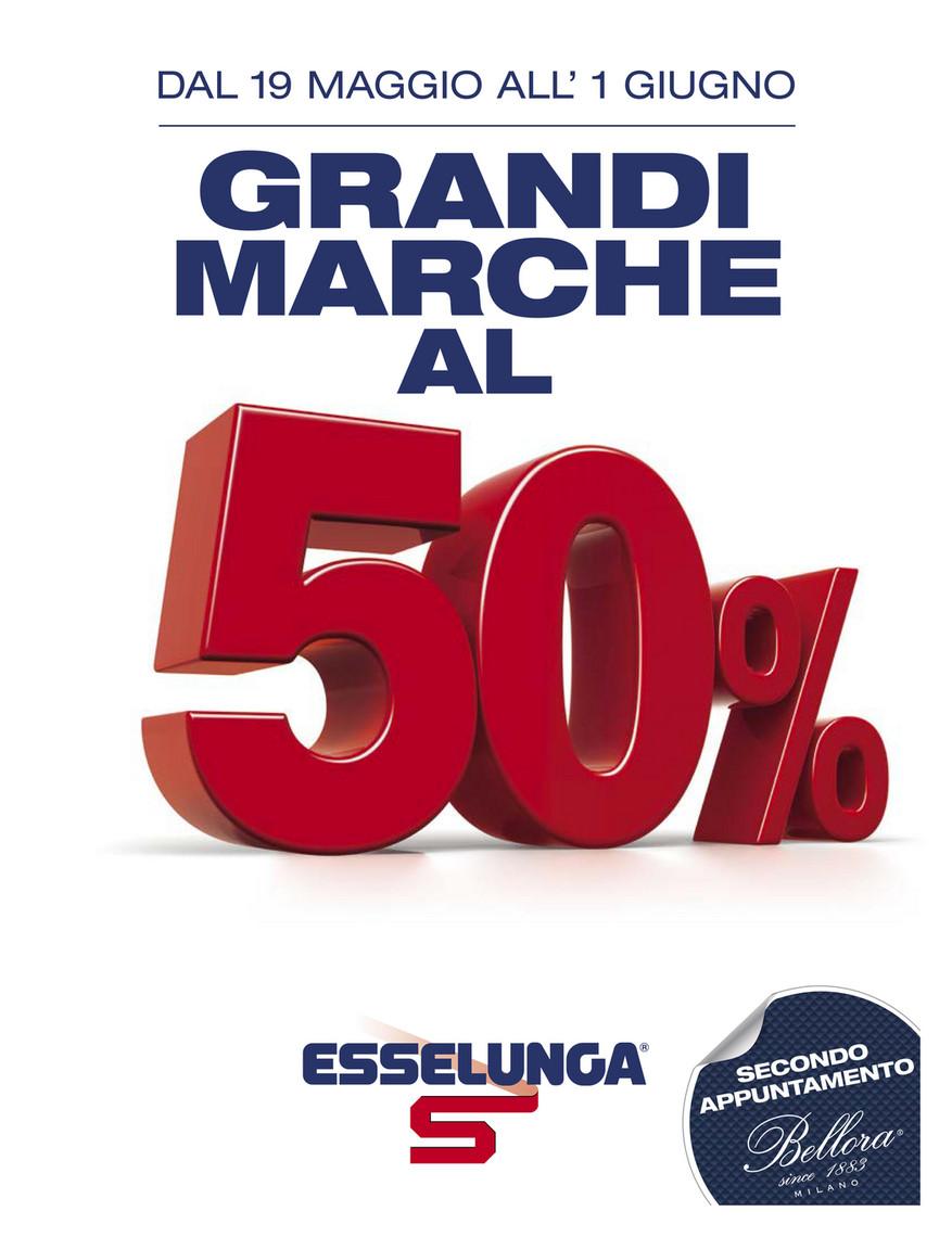 brand new f054f 57ac1 SP - Volantino Esselunga - Grandi Marche al 50% - Page 1 ...