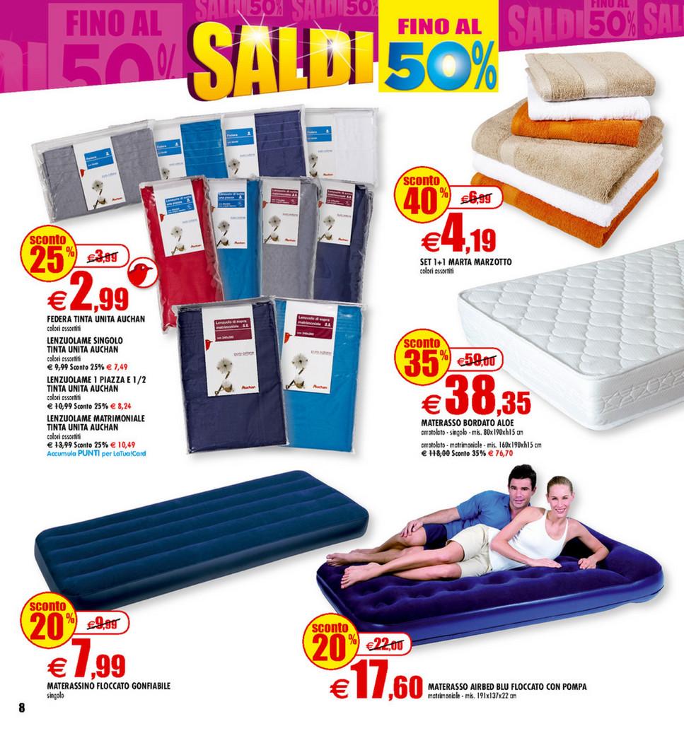 Materasso Matrimoniale Auchan.Sp Volantino Auchan Saldi Fino Al 50 Page 6 7
