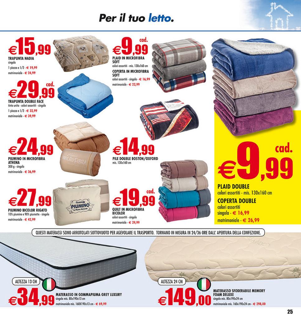 Materassi Auchan.Sp Volantino Auchan Convenienza D Autunno Page 24 25