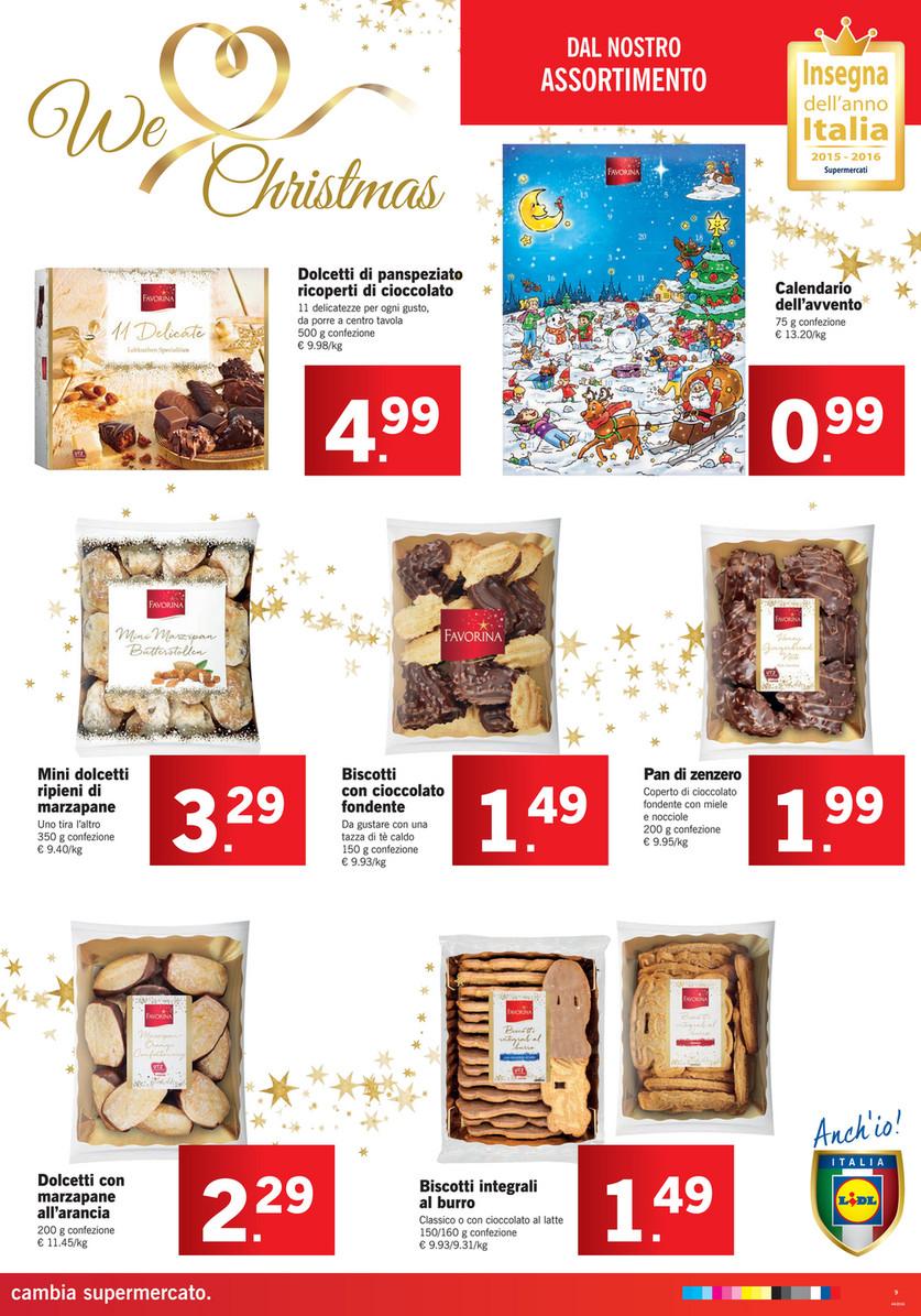 Lidl Calendario Avvento.Sp Volantino Lidl We Love Christmas Dal 31 Ottobre Al 6
