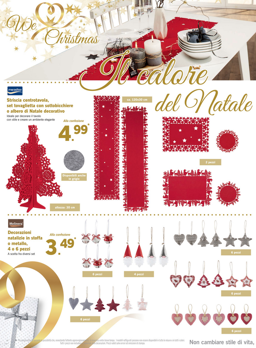 foto ufficiali 3aee5 a1d19 SP - Volantino Lidl - We Love Christmas dal 14 al 20 ...