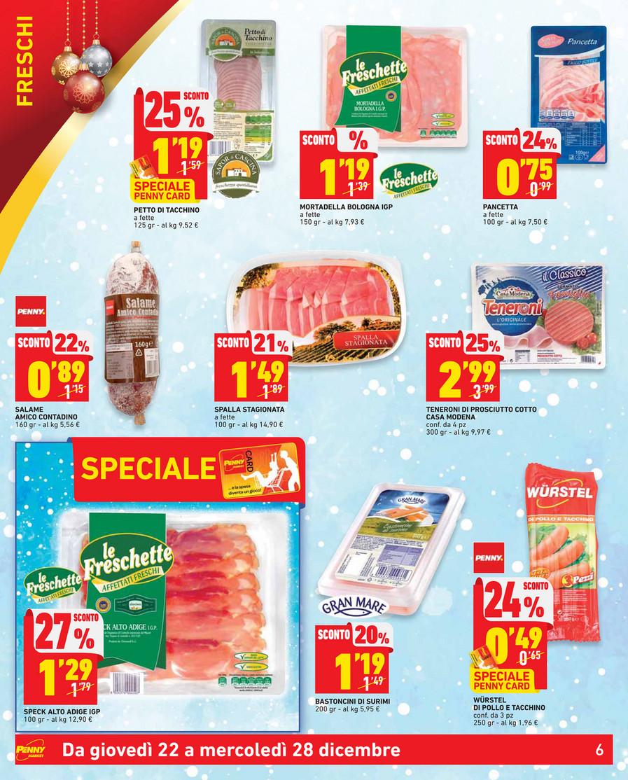 Sp Volantino Penny Market Buon Natale Dal 22 Al 28 Dicembre 2016 Page 6 7 Created With Publitas Com