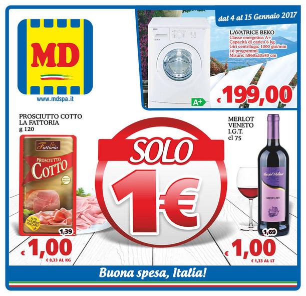 SP - Volantino MD - Solo 1 euro dal 4 al 15 Gennaio 2017 - Page 1 ...