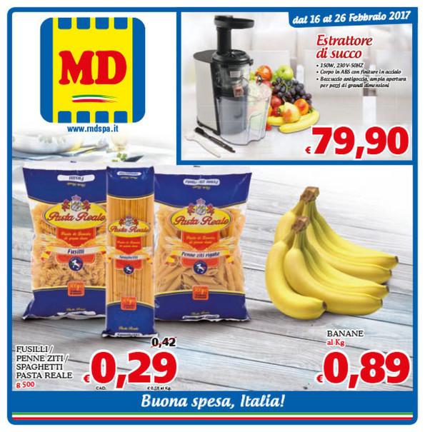 Volantino MD discount dal 16 al 26 Febbraio 2017   Sbircia Prezzo